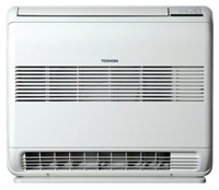 Toshiba RAS-B10UFV-E, RAS-B13UFV-E and RAS-B18UFV-E Bi Flow Console Air Conditioning Units