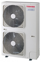 Toshiba RAV-SM1103AT-E, RAV-SM1403AT-E and RAV-SP1603AT-EHeat Pump Condensing Unit