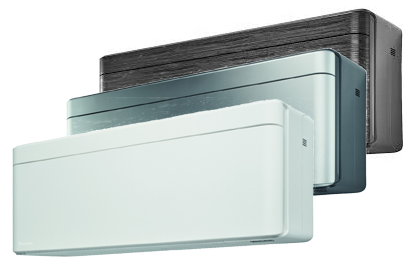 Daikin Stylish in White, Silver or Blackwood